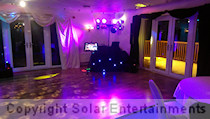 30th birthday disco and karaoke Hazel Grove Golf Club Stockport January 2015