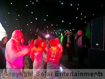 50th birthday disco and karaoke Broad Meadow Farm supporting Fake That June 2014