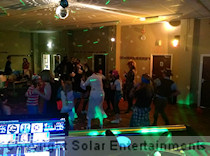 40th birthday 1980s themed disco at Fred Hopkinson Memorial Hall in Unstone April 2015