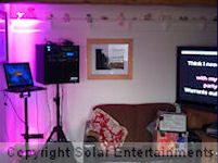 Hen party karaoke machine hire at Foxglove Cottage, Standlow Farm, Ashbourne on 2nd February 2013