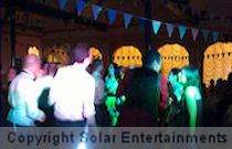 Wedding disco at Mount St Mary's, Spinkhill, July 2012