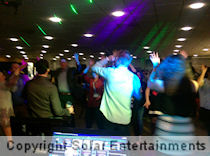 Corporate karaoke and disco at Ricoh Arena Coventry March 2017